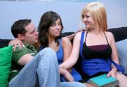 Addi Crue & Audrianna Angel & Brad Hardy in 2 Chicks Same Time