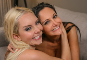 Ava Addams, Aaliyah Love & Johnny Castle in Diary of a Nanny - Sex Position 1