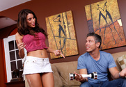 Aleksa Nicole & Mick Blue in I Have a Wife - Sex Position 1