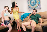 Alice March, Sybil Stallone & Johnny Castle in I Have a Wife - Sex Position 1