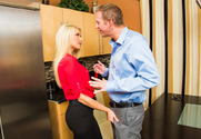 Anikka Albrite & Mark Wood in I Have a Wife - Sex Position 1
