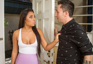 Gianna Nicole  & Ike Diezel in I Have a Wife - Sex Position 1