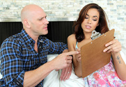 Isis Taylor & Johnny Sins in I Have a Wife - Sex Position 1