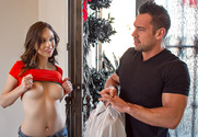 Jade Nile  & Johnny Castle in I Have a Wife - Sex Position 1