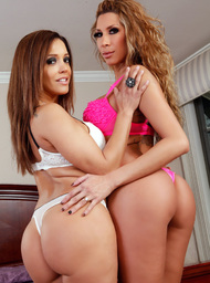 Kayla Carrera, Francesca Le, Bill Bailey & Michael Vegas in Latin Adultery - Centerfold