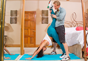 Luna Star  & Ryan Mclane in Latin Adultery - Sex Position 1