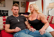 Alexis Golden & Bill Bailey in My Friend's Hot Mom story pic
