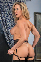 Brandi Love starring in Friend's Momporn videos with American and Athletic Body
