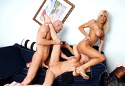Misty Vonage, Bridgett Lee & Johnny Sins in My Friends Hot Mom - Sex Position 2