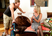 Bridgett Lee & Bill Bailey in My Friends Hot Mom - Sex Position 1