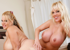Harmony Bliss, Crystal Ashley & Christian in My Friends Hot Mom - Centerfold