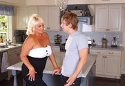 Dana Hayes & Danny Wylde in My Friend's Hot Mom story pic