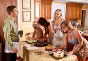 Deauxma, Julia Ann, Holly Halston, Darla Crane & Michael Vegas in My Friends Hot Mom - Sex Position 1