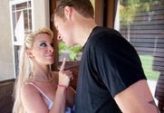 Holly Halston & Chris Johnson in My Friends Hot Mom - Sex Position 1