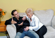 Mrs. Jewell & Andrew Andretti in My Friend's Hot Mom - Sex Position 1