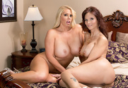 Syren De Mer & Karen Fisher & Bill Bailey in My Friend's Hot Mom story pic