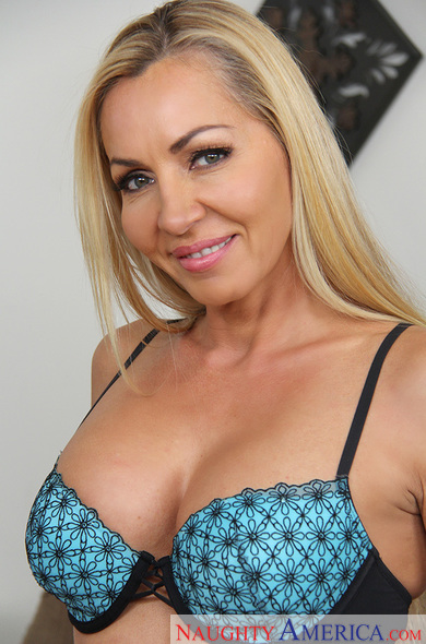 A blonde milf wants a young dick 6