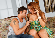 Monique Fuentes & Rocco Reed in My Friend's Hot Mom story pic