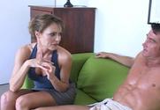 Saskia & Billy Glide in My Friend's Hot Mom story pic