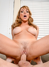 Girlfriend's Mom & MILF Porn Video with American and Blow Job scenes