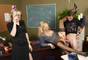 Alana Evans & Darryl Hanah & Kris Slater in My First Sex Teacher