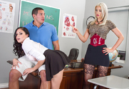 Gigi Allens, Ariana Marie & Tony Martinez in My First Sex Teacher - Sex Position 1