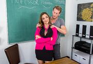 Ariella Ferrera & Ryan Mclane in My First Sex Teacher