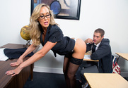 Brandi Love & Xander Corvus in My First Sex Teacher - Sex Position 1