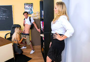 Bridgette B. & Julia Ann & Lucas Frost in My First Sex Teacher
