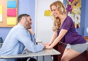 Cherie DeVille & Damon Dice in My First Sex Teacher - Sex Position 1