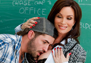 Diamond Foxxx & Kris Slater in My First Sex Teacher - Sex Position 2