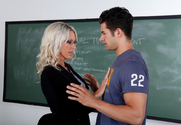 Emma Starr & Giovanni Francesco in My First Sex Teacher - Sex Position 1