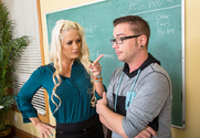 Holly Heart & Dane Cross in My First Sex Teacher story pic