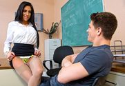 Jaclyn Taylor  & Bruce Venture in My First Sex Teacher - Sex Position 1