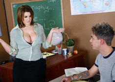 Lisa Sparxxx & Zane in My First Sex Teacher - Centerfold