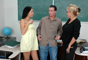 Haley Paige & Milan & Trent Soluri in My First Sex Teacher
