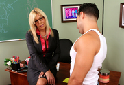 Misty Vonage & Mikey Butders in My First Sex Teacher - Sex Position 1