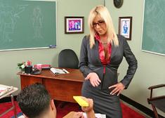Misty Vonage & Mikey Butders in My First Sex Teacher - Centerfold