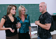 Emma Starr, Nika Noir & Derrick Pierce in My First Sex Teacher - Sex Position 1