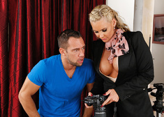 Phoenix Marie & Johnny Castle in My First Sex Teacher - Centerfold