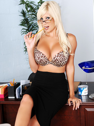 Puma Swede & Marcos Leon in My First Sex Teacher - Centerfold