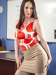 Rayveness & Johnny Castle in My First Sex Teacher - Centerfold