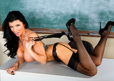Romi Rain & Johnny Castle in My First Sex Teacher