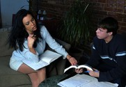 Angelica Sin & Trent Soluri in My First Sex Teacher - Sex Position 1