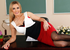 Tanya Tate & James Deen in My First Sex Teacher - Centerfold