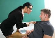 Vanilla DeVille & Danny Wylde in My First Sex Teacher - Sex Position 1