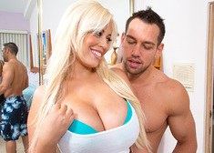 Bridgette B. & Johnny Castle in My Girlfriend's Busty Friend - Centerfold