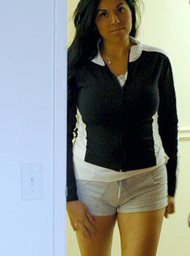 Maid & Stranger Porn Video with Big Ass and Black Hair scenes