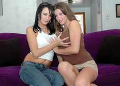 Alektra Blue & Sara Stone in My Sisters Hot Friend - Centerfold