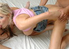 Michelle B. & Trent Soluri in My Sisters Hot Friend -  Blowjob